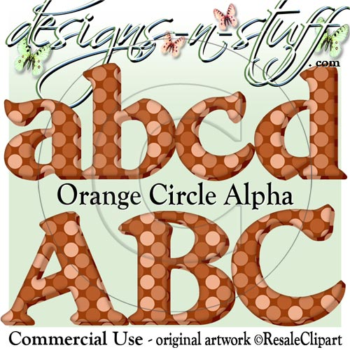 Orange Circle Alpha CU