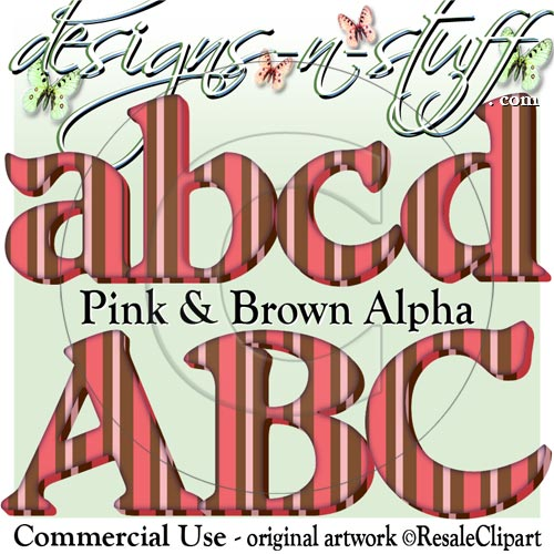 Pink and Brown Alpha CU