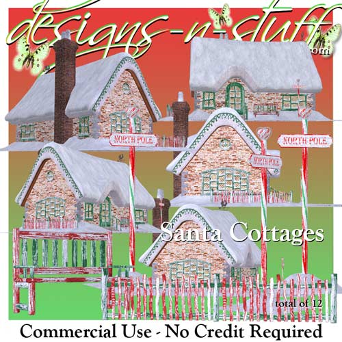 Santa Cottages CU - Click Image to Close
