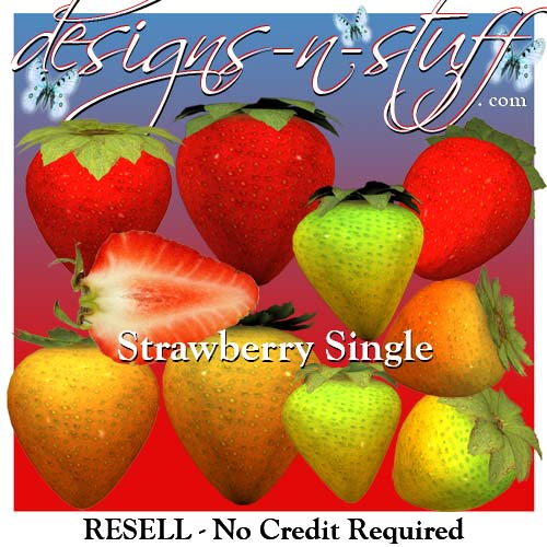 Strawberry Single - Resell