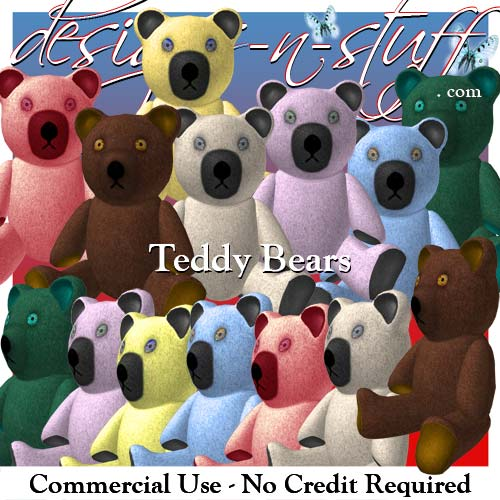 Teddy Bears - Click Image to Close