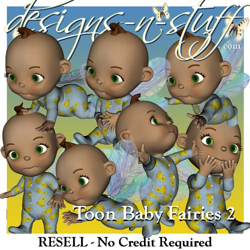 Toon Baby Fairies 2 - Resell