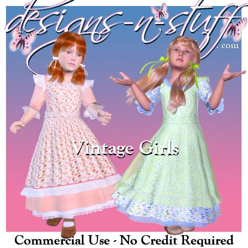 Vintage Girls - Click Image to Close