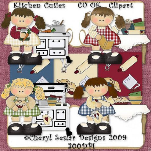 Kitchen Cuties CU