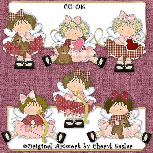 Little Cupid Beauties CU - Click Image to Close