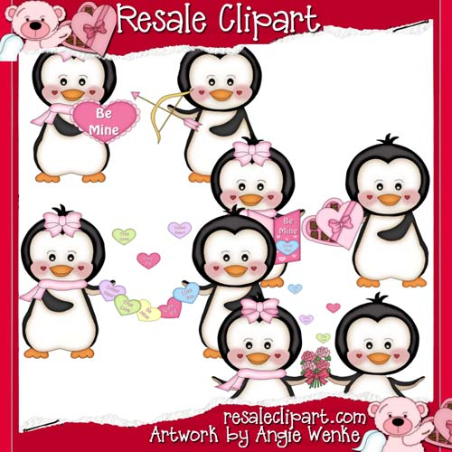 Penguin Valentines exclusive CU